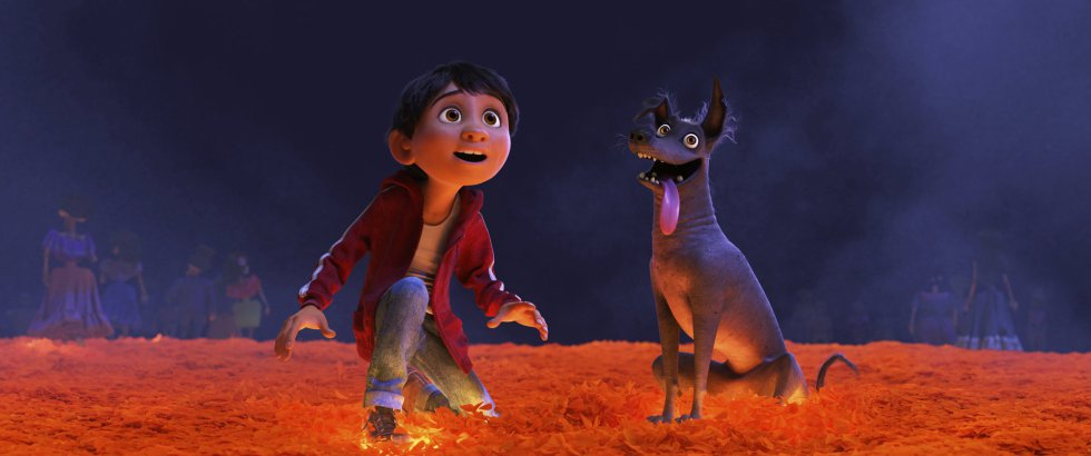 Escena de la película de animación 'Coco'.