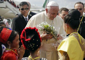 La visita del papa Francisco a Myanmar, en imágenes