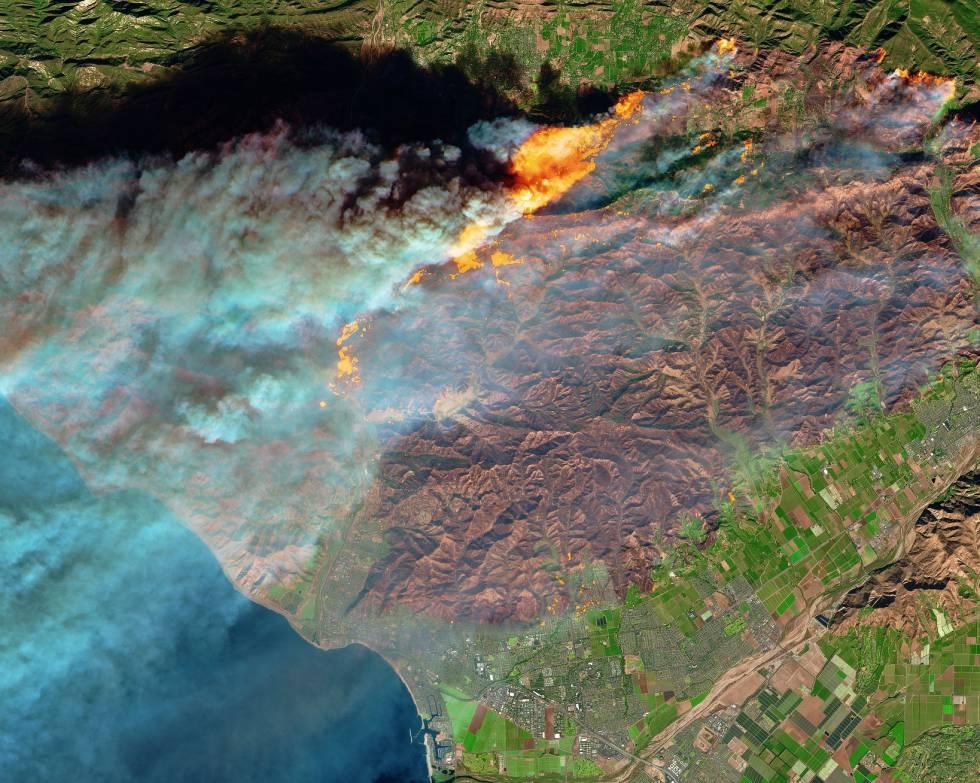 Fotorrelato: California: Los incendios de California, explicados en ...