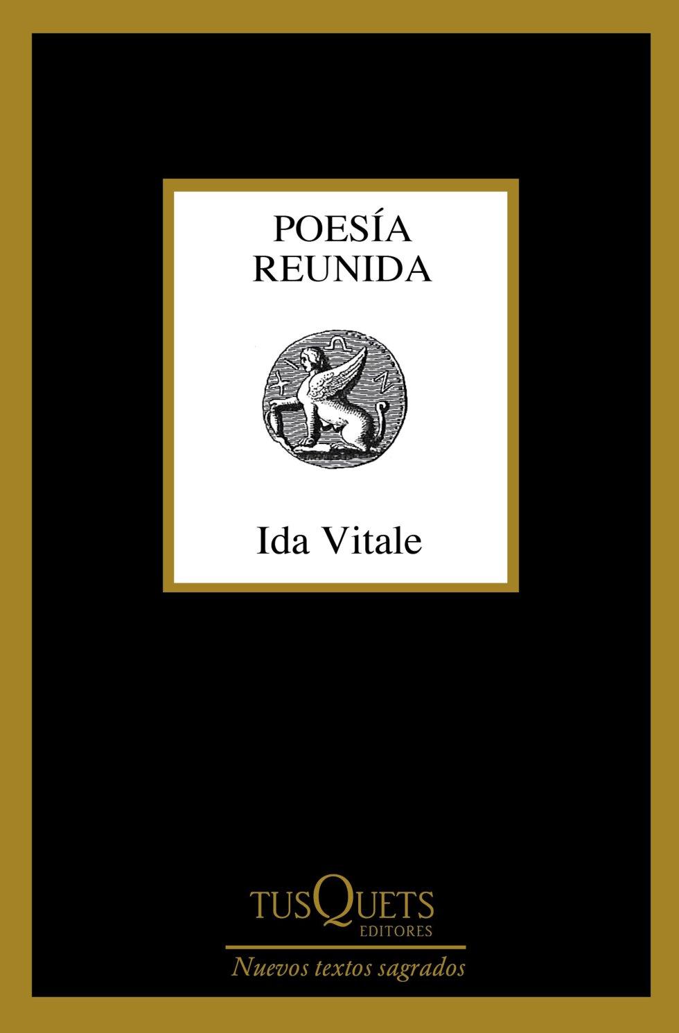 POESÍA REUNIDA (Tusquets). Ida Vitale. Hace 15 años la publicación de 'Reducción del infinito' supuso la presentación en España de una de las grandes voces de la lírica latinoamericana. Aquella antología se parecía a esta recopilación en que seguía un orden cronológico inverso. La diferencia reside en que esta tiene el doble de páginas y que la poeta uruguaya, dueña de una voz esencial al límite del hermetismo, es ya un nombre conocido en un país que le otorgó en 2015 el Premio Reina Sofía de Poesía Iberoamericana.
