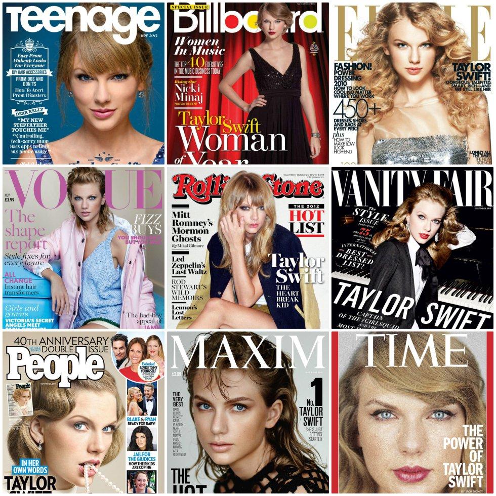 Como una de las cantantes de mayor éxito de su generación, ha protagonizado portadas de las principales revistas de moda y de música.