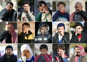 Campaña de solidarización con Karim Abdul Rahaman, en imágenes