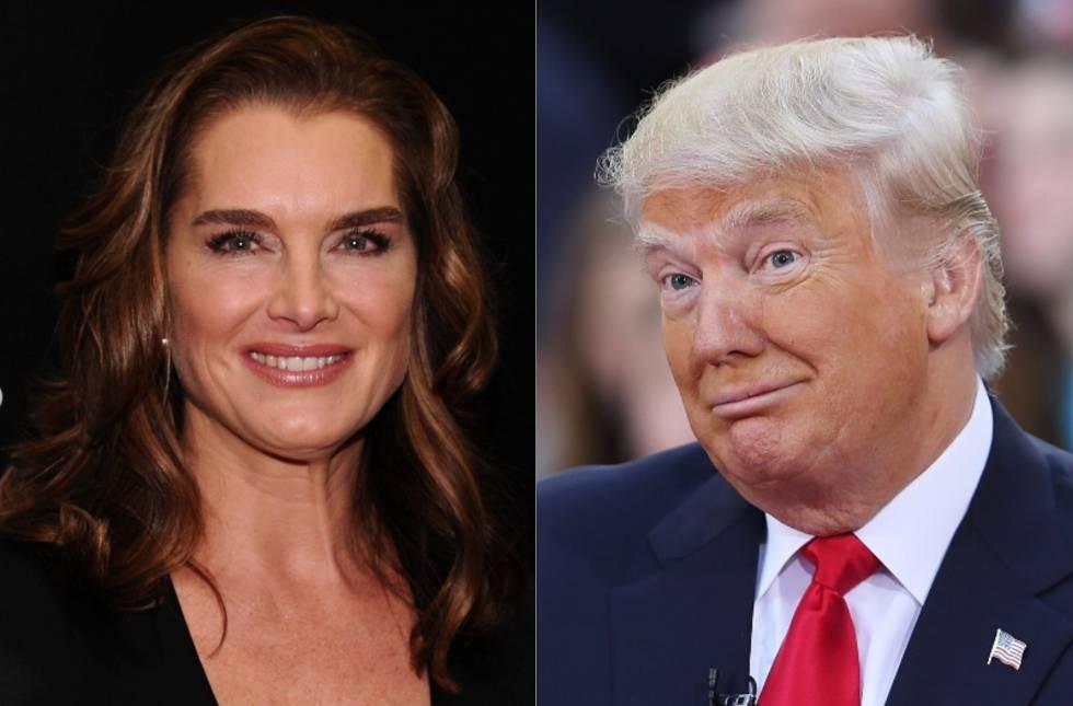 """En el programa estadounidense de Andy Bravo, 'Watch What Happens Live', la actriz Brooke Shields contó que tras encontrarse con Donald Trump en un evento solidario en 1991, éste la llamó por teléfono mientras ella estaba rodando una película. """"Me llamó justo tras divorciarse [de su segunda esposa, Marla Maples] y me dijo: 'Creo que tú y yo deberíamos salir juntos porque tú eres la novia de América, yo soy el hombre más rico de Estados Unidos y a la gente le encantaría""""."""
