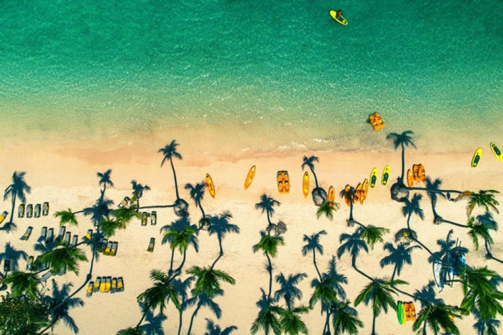 Playas de Punta Cana en República Dominicana.