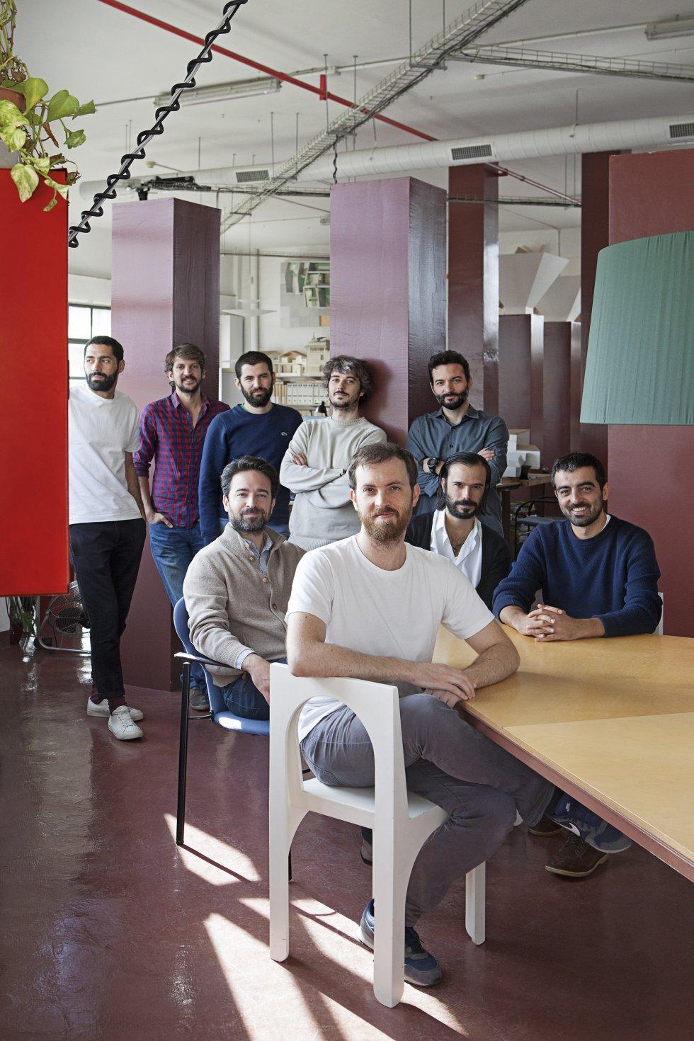 Fotos la transformaci n de un tico en barcelona el - Despacho arquitectura barcelona ...
