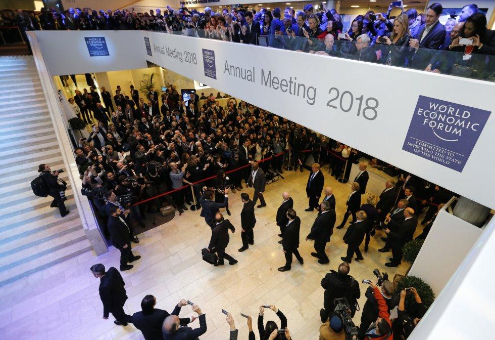 Resultado de imagen de Foro Económico Mundial en Davos