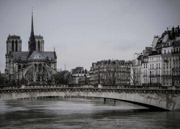 Inundaciones en París por la crecida del Sena