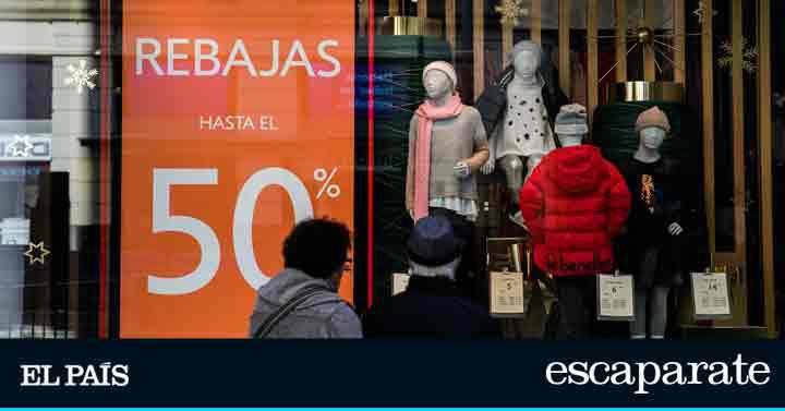 Las prendas más vendidas por Internet durante las rebajas de enero en El  Corte Inglés 46205b783d21