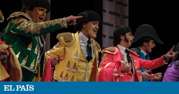 La Chirigota Del Carnaval De Cádiz Responde A Andrea Janeiro Gente Y Famosos El País