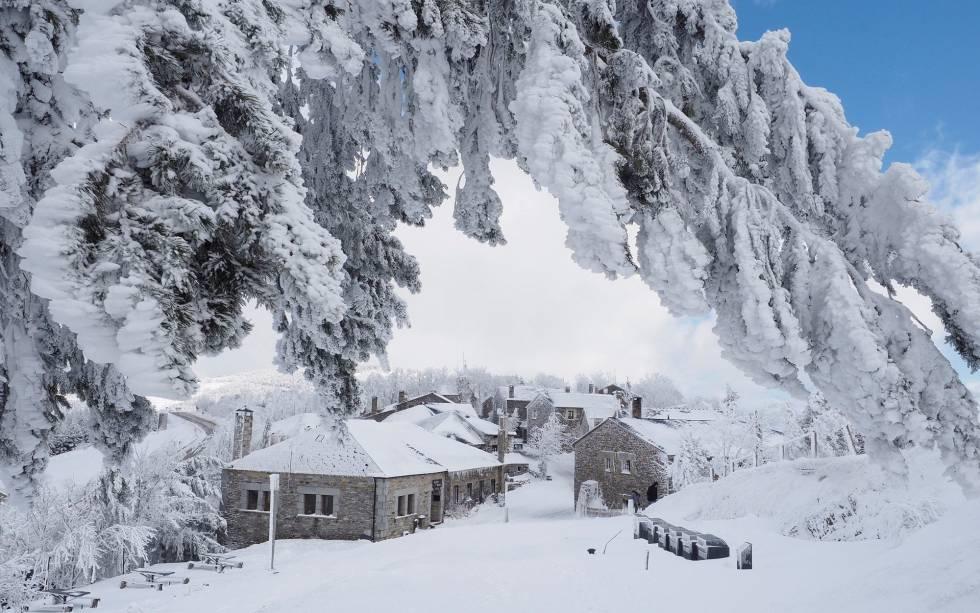 Fotos: Temporal De Nieve En La Península, En Imágenes