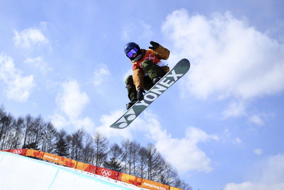 Queralt Castellet, uma das principais chances de medalha da Espanha nos Jogos Olímpicos de Pyeongchang, selou sua classificação para a final de Halfpipe de Snowboard da terça-feira depois de se classificar em quinto lugar.