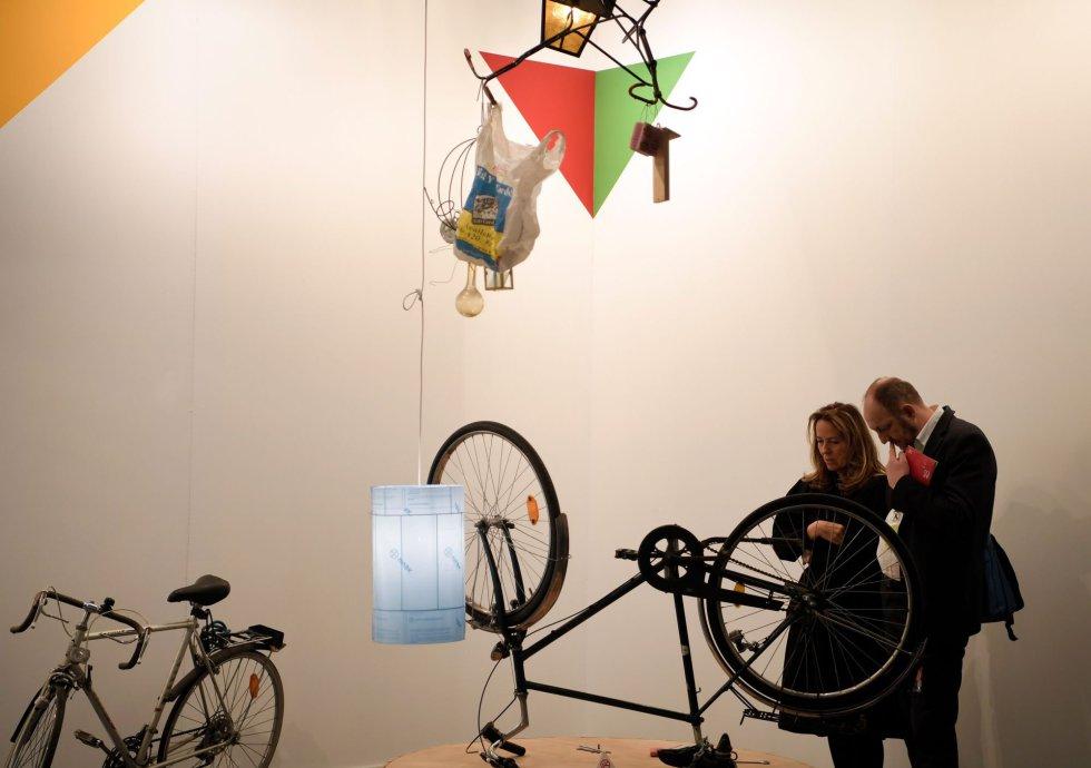 'Bismarck', instalación del artista alemán Manfred Pernice.