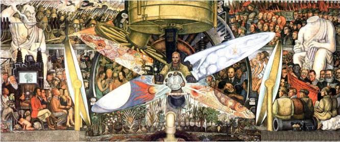 De qué tesoro hablamos.  En 1933, el pintor mexicano Diego Rivera recibió del magnate estadounidense Nelson Rockefeller el encargo de realizar un gran mural para el vestíbulo del Rockefeller Center en Nueva York. Rivera era uno de los pintores favoritos de Abby Rockefeller, madre de Nelson, pero también un comunista reconocido. Por eso a nadie debió sorprenderle que el resultado de su labor estuviera cargado de crítica sociopolítica, y que para colmo en él figurara expresamente el rostro de Lenin.     Cómo desapareció y por qué nadie lo ha encontrado.  La prensa se mostró escandalizada con la obra, y Rockefeller se lo tomó como un insulto personal, convencido de que el perro al que había dado de comer acababa de morderle la mano (mucho no se equivocaba). Así que en un acto de rabia y chulería propia de quien dispone de medios económicos ilimitados, hizo destruir el mural por el que había pagado 21.000 dólares (unos 17.000 euros). Pero Rivera había tomado fotografías de la obra, y se basó en ellas para reproducirla en el Palacio de Bellas Artes de México, donde aún puede admirarse.     Cuál es su valor.  Diego Rivera es hoy uno de los artistas latinoamericanos que alcanzan precios más elevados en el mercado del arte. Hace un par de años, su obra 'Baile en Tehuantepec', un lienzo de dos metros de alto, se vendió por el precio récord 15,7 millones de dólares (12,7 millones de euros). Si el gigantesco mural del Rockefeller Center hubiera sobrevivido y se pusiera en venta, ese importe bien podría triplicarse.