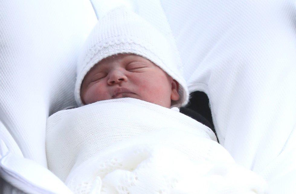 Primeras imágenes del tercer hijo de los duques de Cambridge.