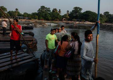El paso de los migrantes en el sur de México
