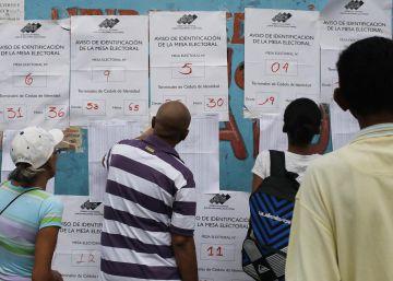 La jornada de elecciones presidenciales en Venezuela, en imágenes