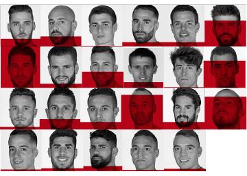 Los 23 convocados para el Mundial 2018