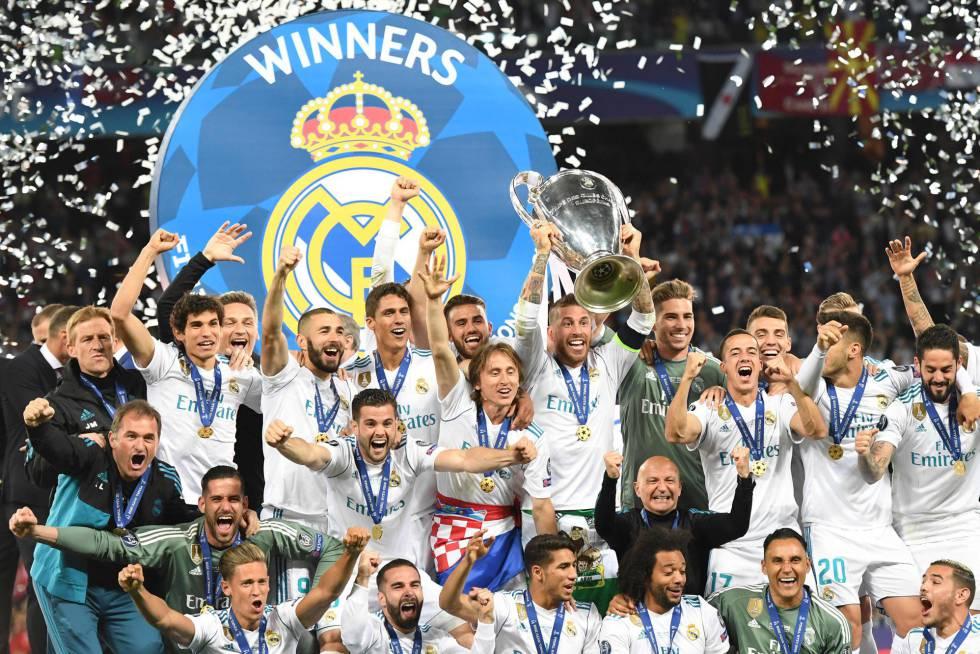 Fotos  Real Madrid - Liverpool  la Final de Champions 2018 276194302cbec