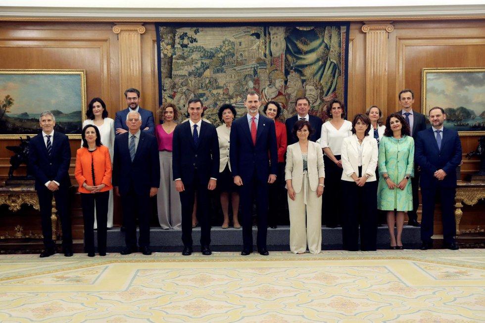 Fotos la toma de posesi n de los nuevos ministros del for Ministros del gobierno