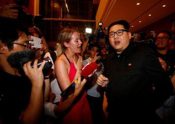 La llegada de Kim Jong-un a Singapur, en imágenes