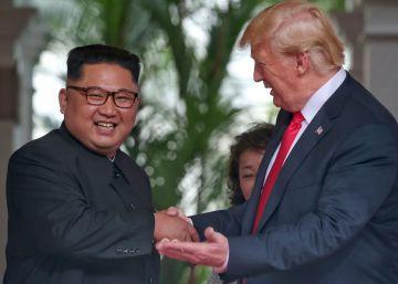 La reunión de Donald Trump y Kim Jong-un, en imágenes