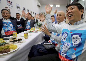 Las reacciones durante el encuentro entre Donald Trump y Kim Jong-un