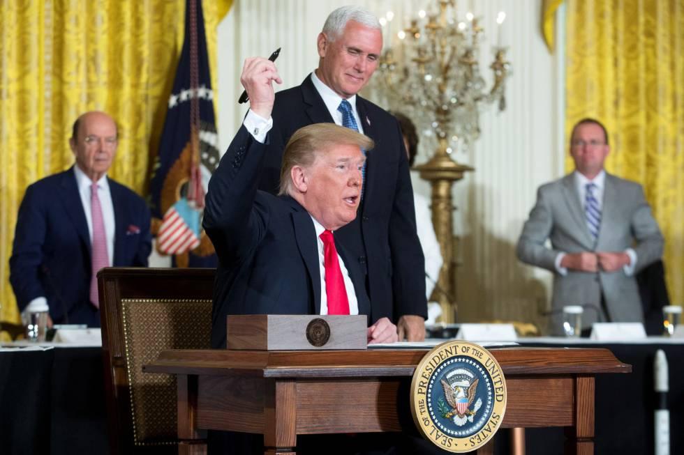 EE UU anuncia una sexta división del Ejército: la Fuerza Espacial