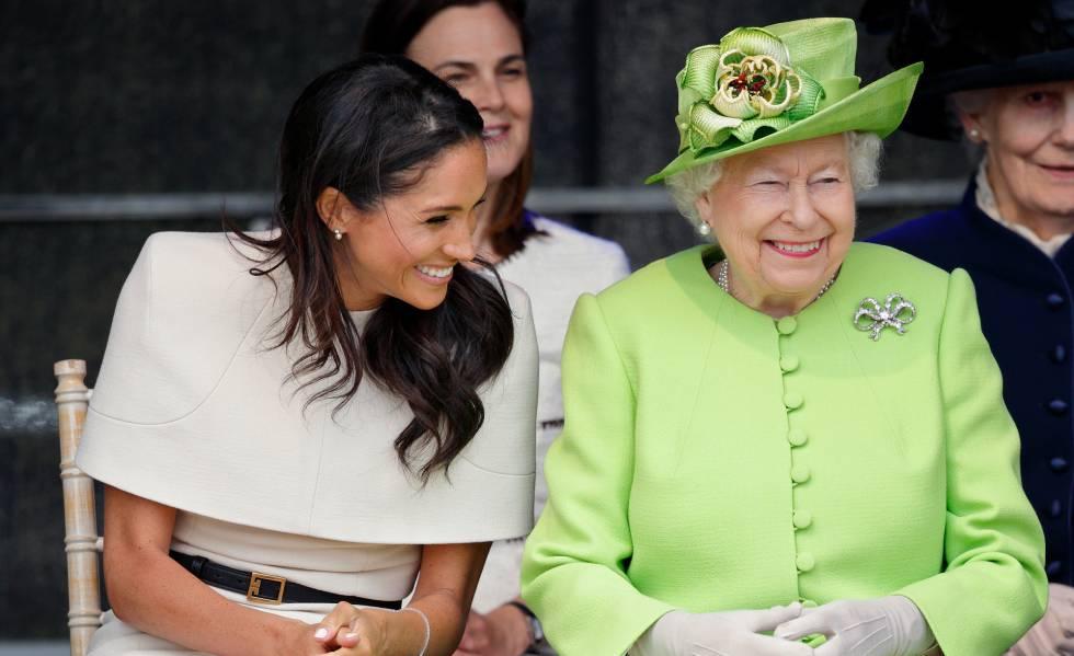 Isabel II y Meghan Markle, la nueva relación especial