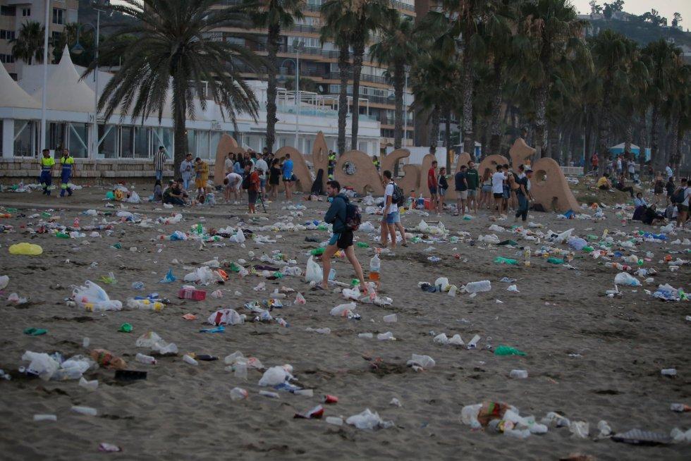 Málaga un vertedero
