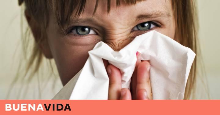Secreción nasal tos 1 año de edad