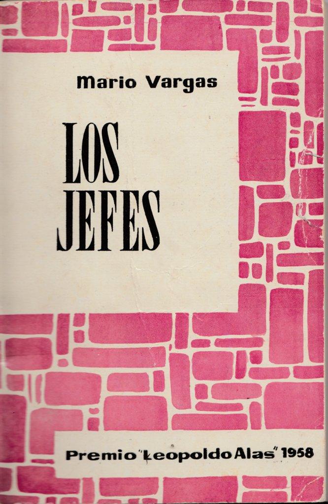 Portada de la primera edición de 'Los jefes', de Mario Vargas Llosa, publicada por Roca Editorial en Barcelona, 1959.