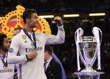 Nueve años de CR en el Madrid en fotos