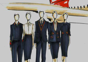 Teresa Helbig, primera mujer en diseñar los uniformes de Iberia