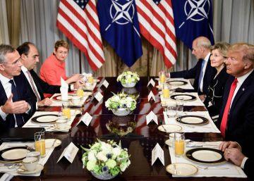 La cumbre de la OTAN, en imágenes