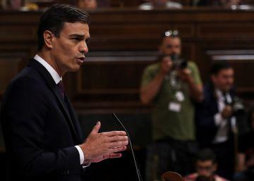 Pedro Sánchez presenta su plan de Gobierno en el Congreso, en directo