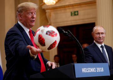 Indignación en las filas republicanas ante la actuación de Trump en Helsinki