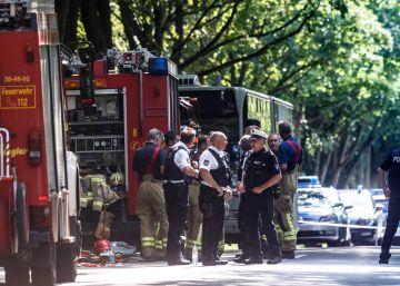Las imágenes del ataque en Lübeck, Alemania