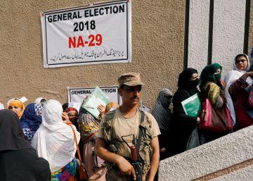 Preparativos de las elecciones generales en Pakistán