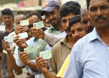 Las elecciones generales en Pakistán, en imágenes