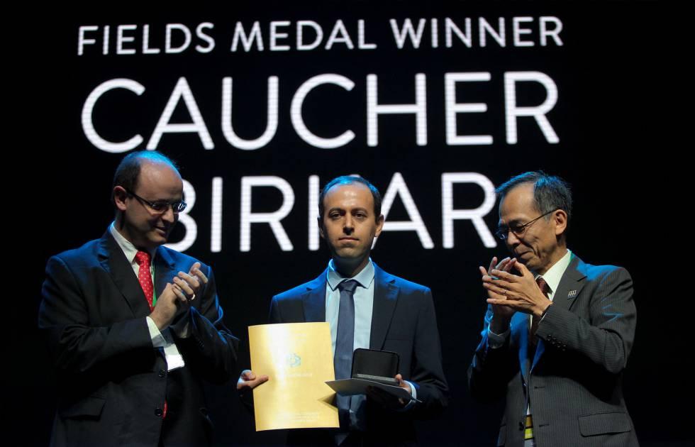 Denunciado el robo de una medalla del 'Nobel' de matemáticas minutos después de entregarla