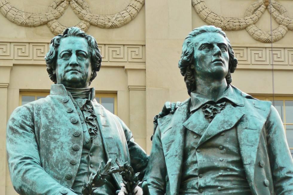 Goethe y sus verdes amigas