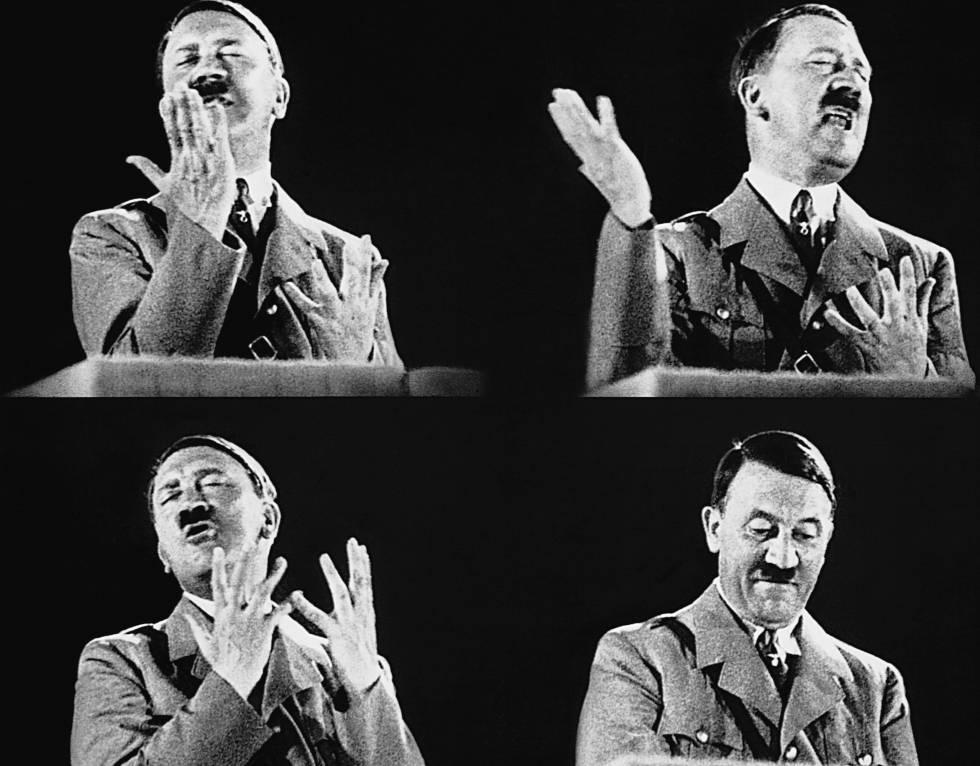 Los discursos de Hitler no ayudaron a los nazis a ganar