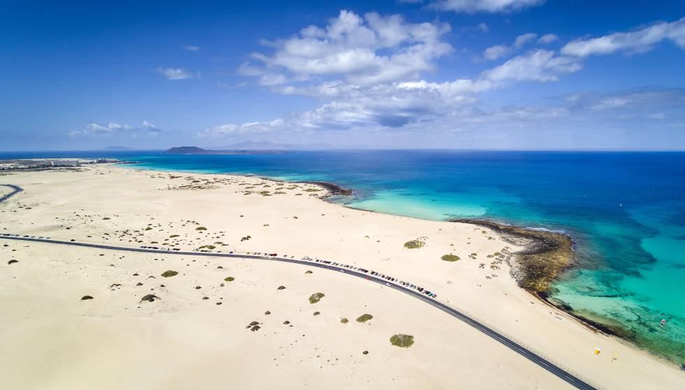 Solo Wonder Woman irá a la playa en las Dunas de Fuerteventura