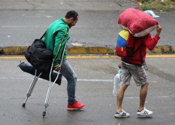 La huida desesperada de Venezuela