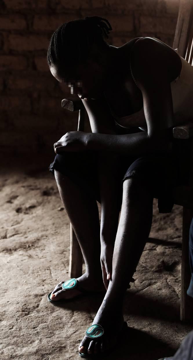 Lucie fue secueestrada y obligada a perpetrar ataques contra civiles de su propio pueblo, en Sudán del Sur.