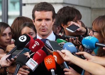 Pablo Casado: ?El autogobierno de Cataluña es difícilmente ampliable?