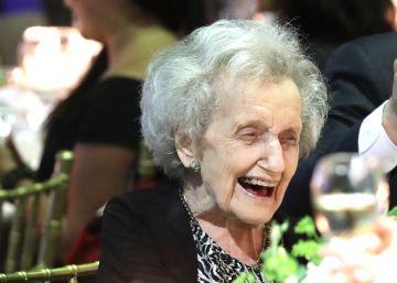 """Brenda Milner, centenaria pionera de la neuropsicología: """"Todo continúa siendo una aventura maravillosa"""""""