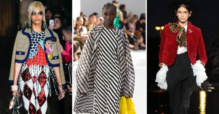 Semana de la Moda  Colorismo y teatralidad en el  prêt-à-porter  de París  0ea794d06c1