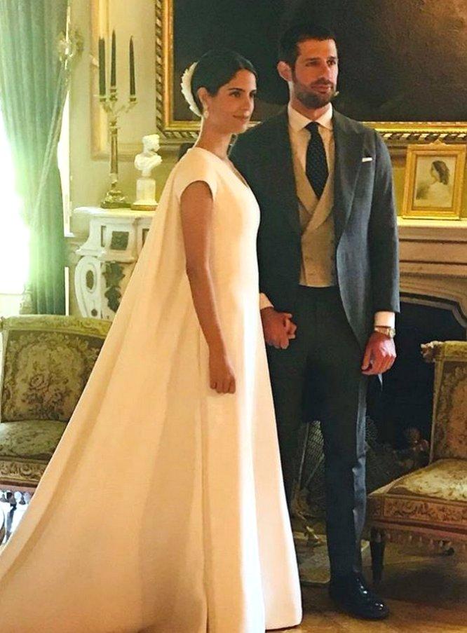 fotos: los invitados a la boda del duque de huéscar y sofía