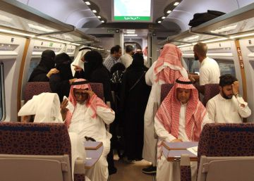Así ha sido el viaje de estreno del AVE a La Meca, en imágenes